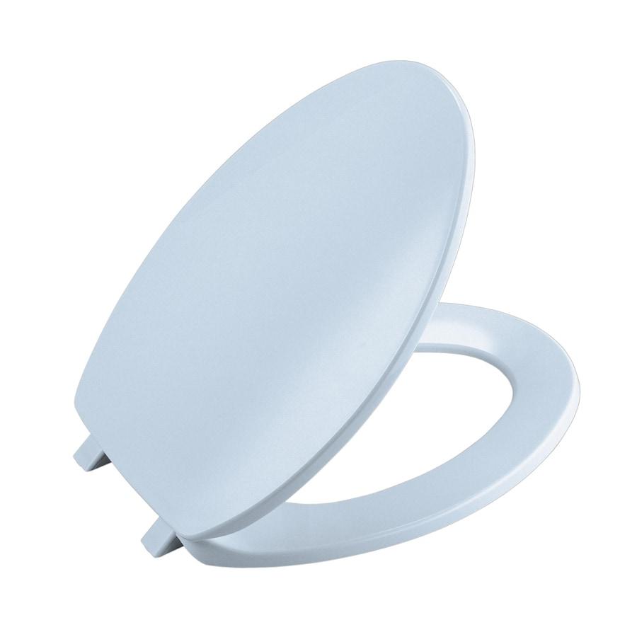 Shop KOHLER Brevia Plastic Toilet Seat at Lowes.com