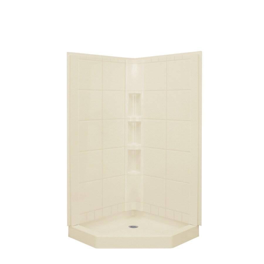 Shop Sterling Vikrell Corner Shower Kit at Lowes.com