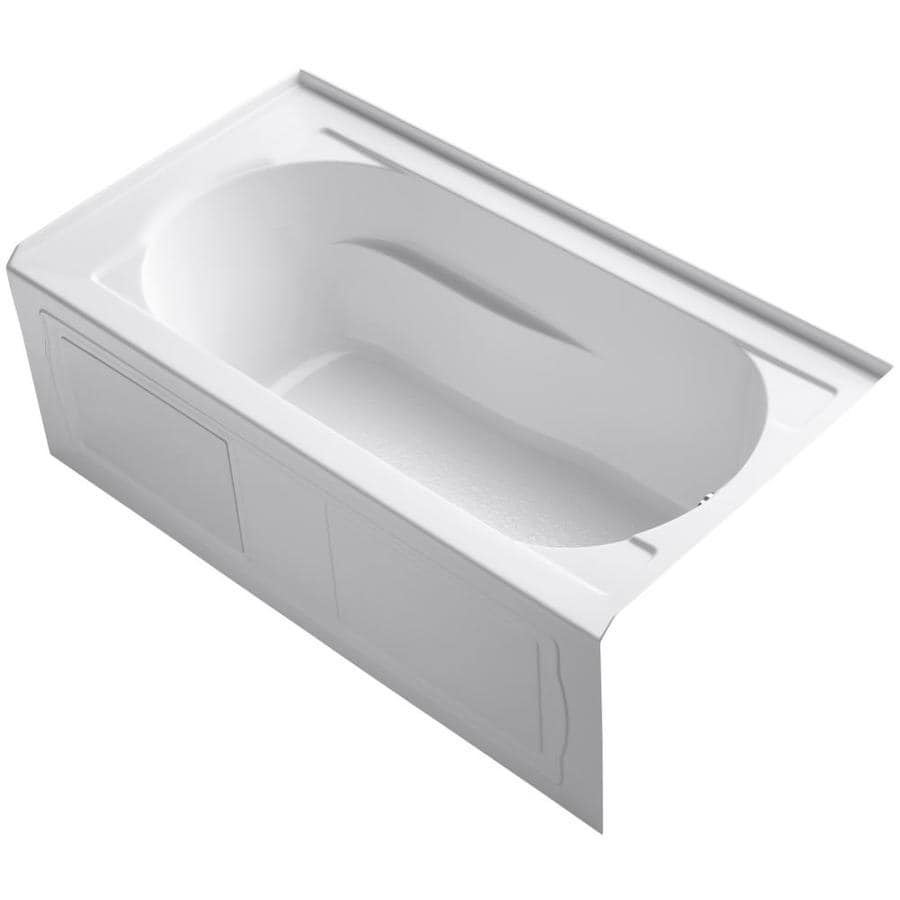p k whirlpool kohler drop devonshire tub bath in acrylic