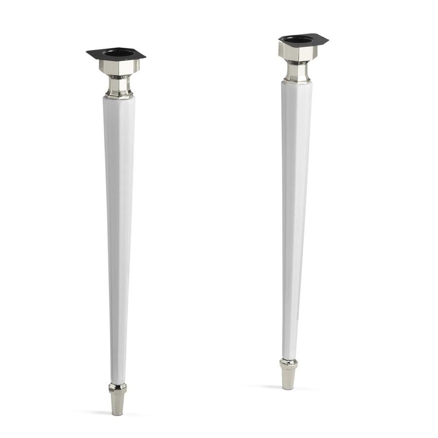 KOHLER White Vanity Legs