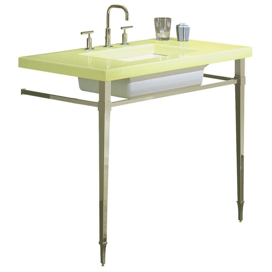 KOHLER Kathryn Citron Lavastone Single Sink Bathroom Vanity Top (Common:  42 In X