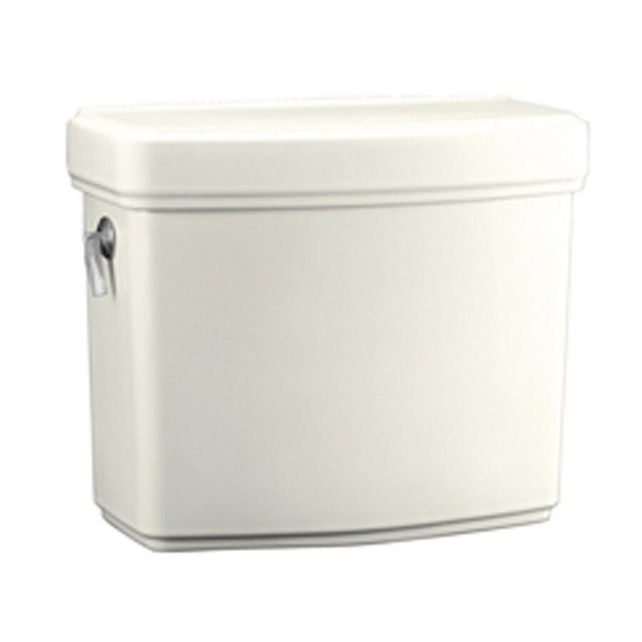 KOHLER Pinoir Biscuit 1.6-GPF (6.06-LPF) 12-in Rough-In Single-Flush High-Efficiency Toilet Tank