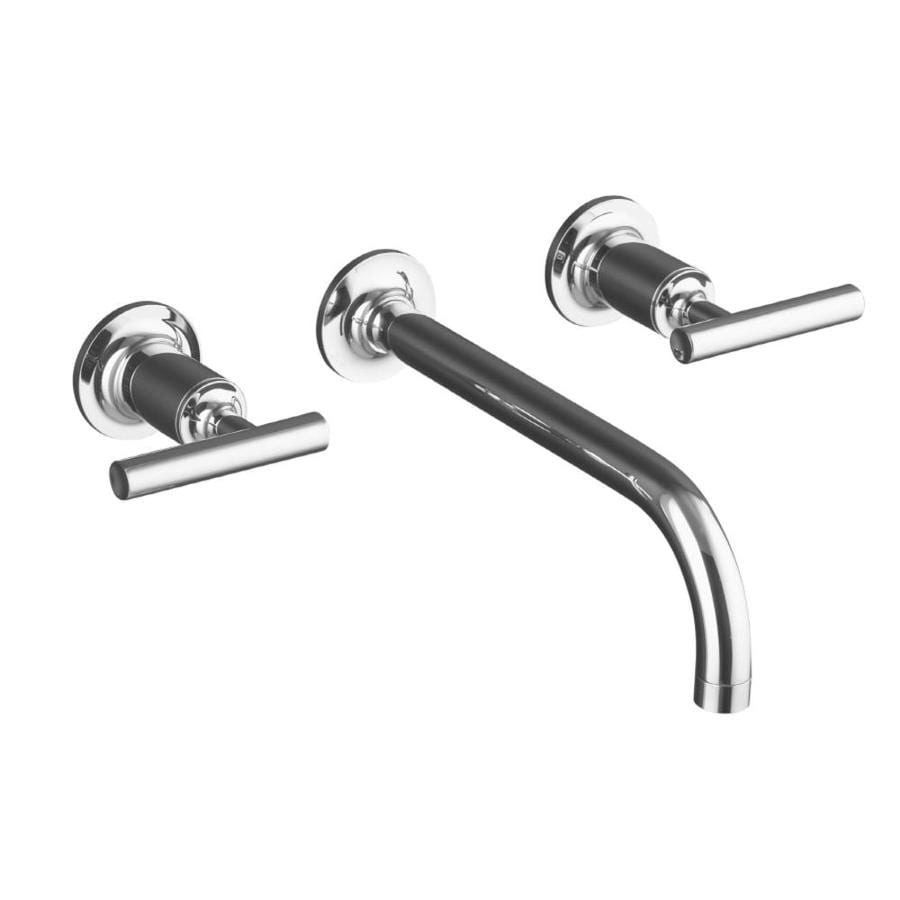 KOHLER Purist Polished Chrome 2-Handle Widespread WaterSense Bathroom Faucet