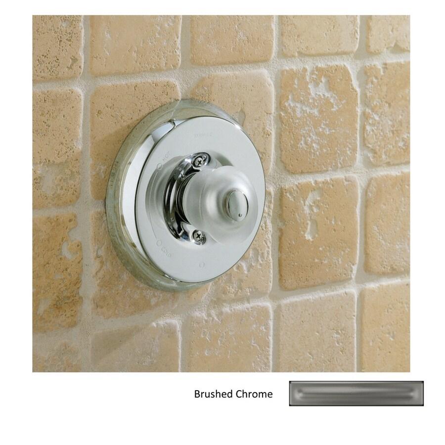 Shop KOHLER Coralais Vibrant Brushed Nickel 2-Handle Tub & Shower ...