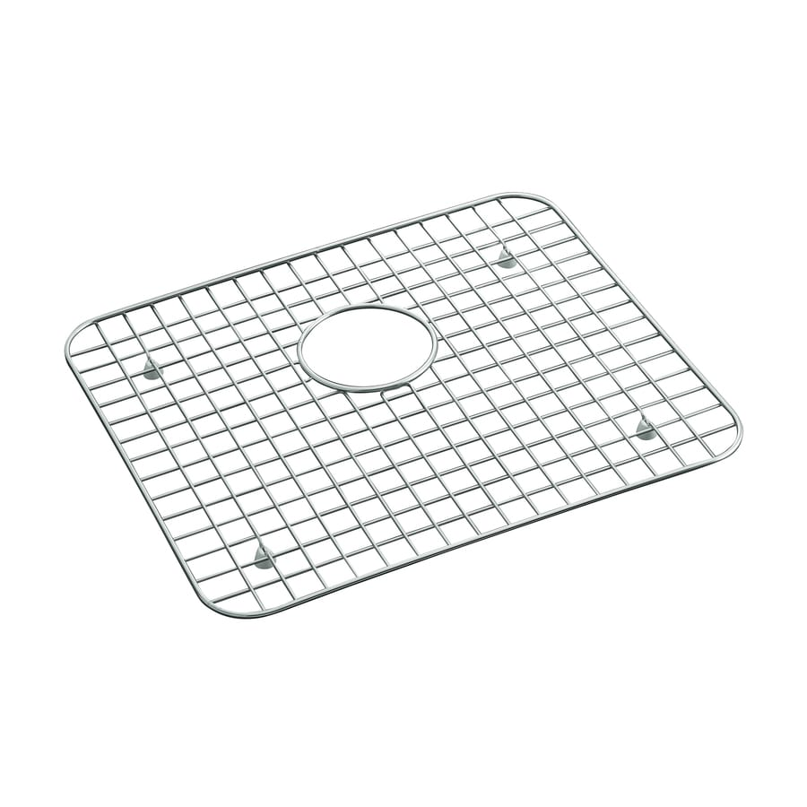 Shop KOHLER Bayview 14.9375-in x 17.1875-in Sink Mat at Lowes.com on lowes bathtub mats, lowes kitchen floor mats, lowes kitchen remodel,