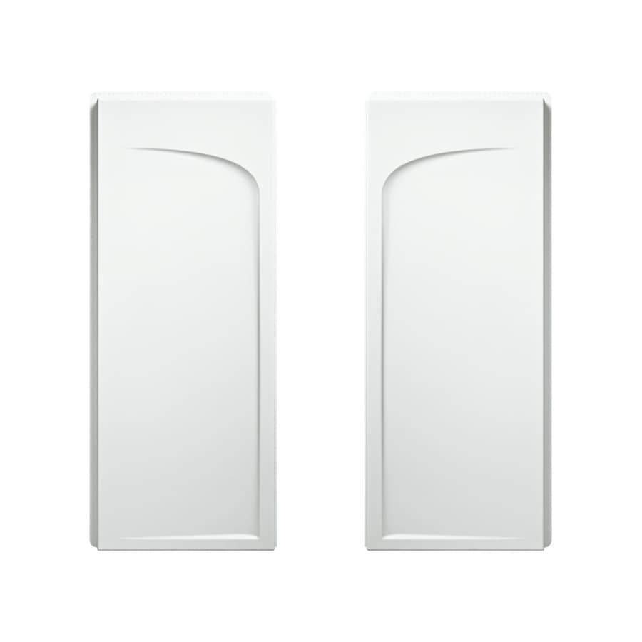 Sterling Ensemble White Shower Wall Surround Side Panel (Common: 34-in; Actual: 72.5-in x 35.25-in)