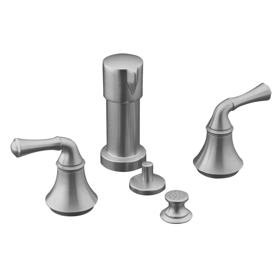 Kohler Forte Kitchen Faucet Parts: Shop KOHLER Forte Brushed Chrome Vertical Spray Bidet