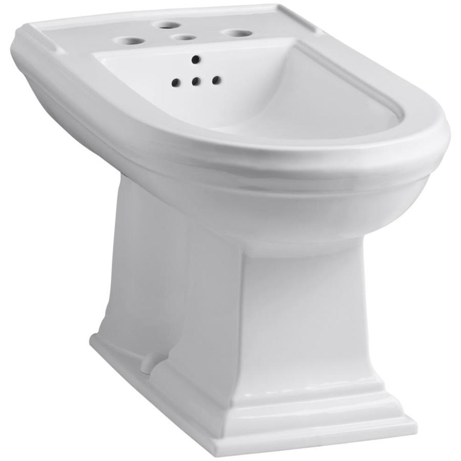 KOHLER Memoirs 15-in H White Elongated Bidet