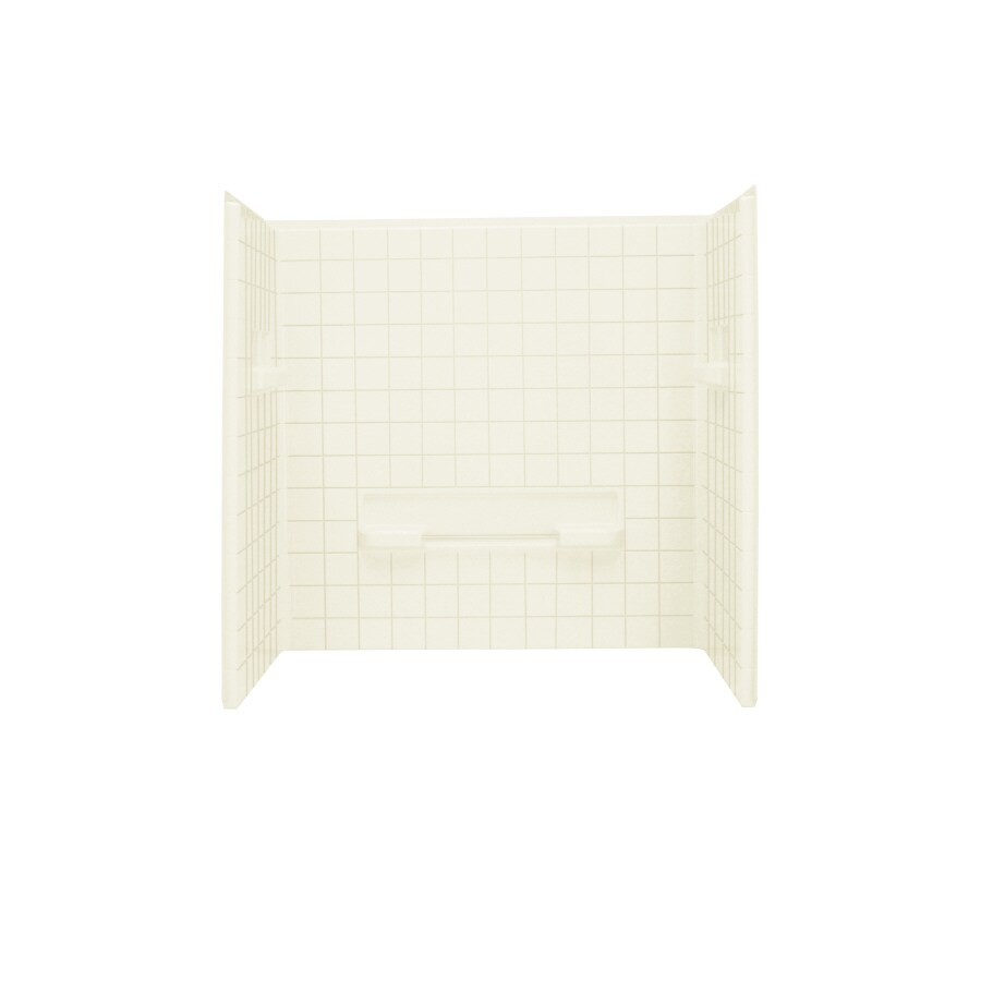 Sterling Shower Wall Surround Corner Wall Panel (Common: 34-in x 1.625-in; Actual: 59.25-in x 34-in x 1.625-in)