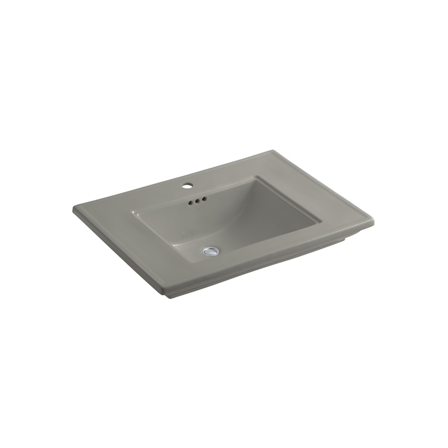 KOHLER 30-in L x 21.75-in W Fire Clay Pedestal Sink Top