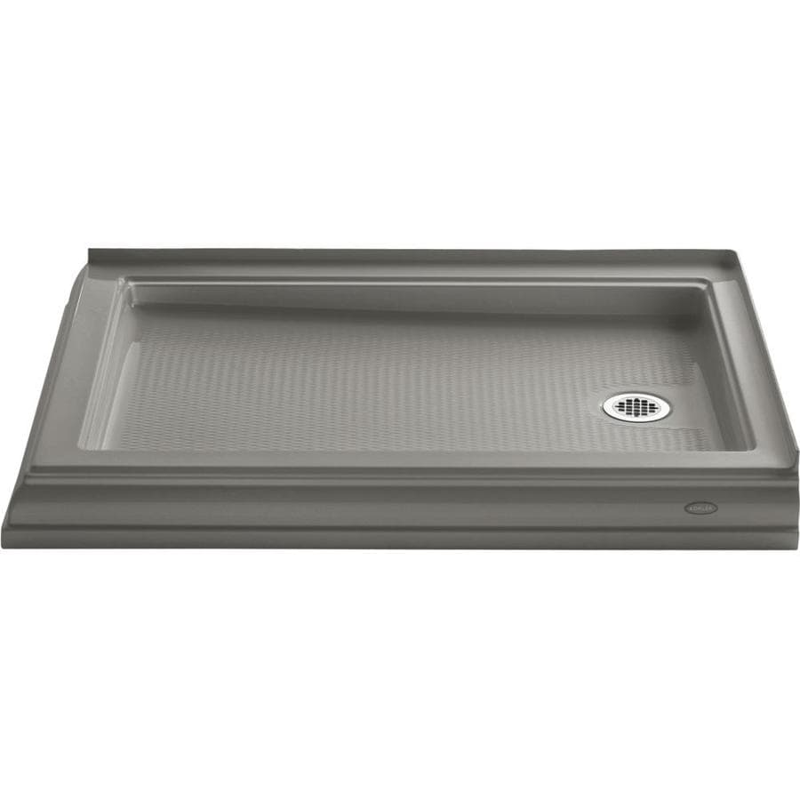 KOHLER Memoirs Cashmere Acrylic Shower Base (Common: 34-in W x 48-in L; Actual: 34.0000-in W x 48.0000-in L)
