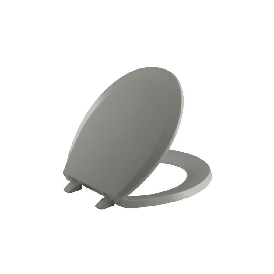 KOHLER Lustra Cashmere Plastic Round Toilet Seat