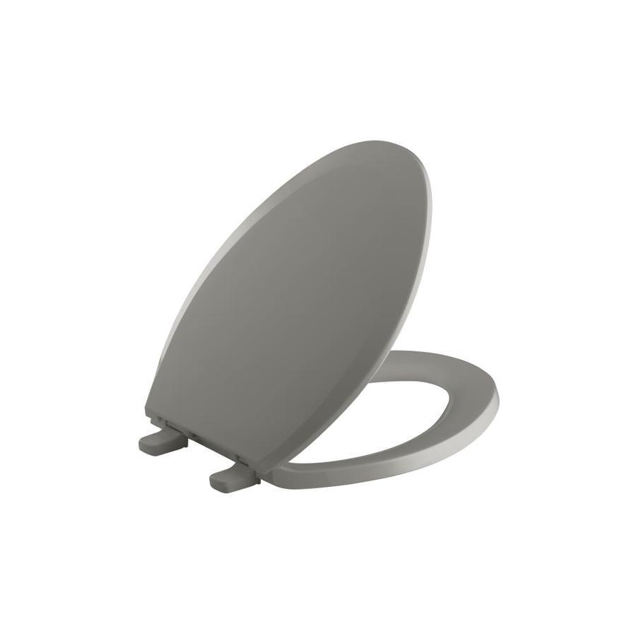 Kohler Lustra Plastic Elongated Toilet Seat At Lowes Com