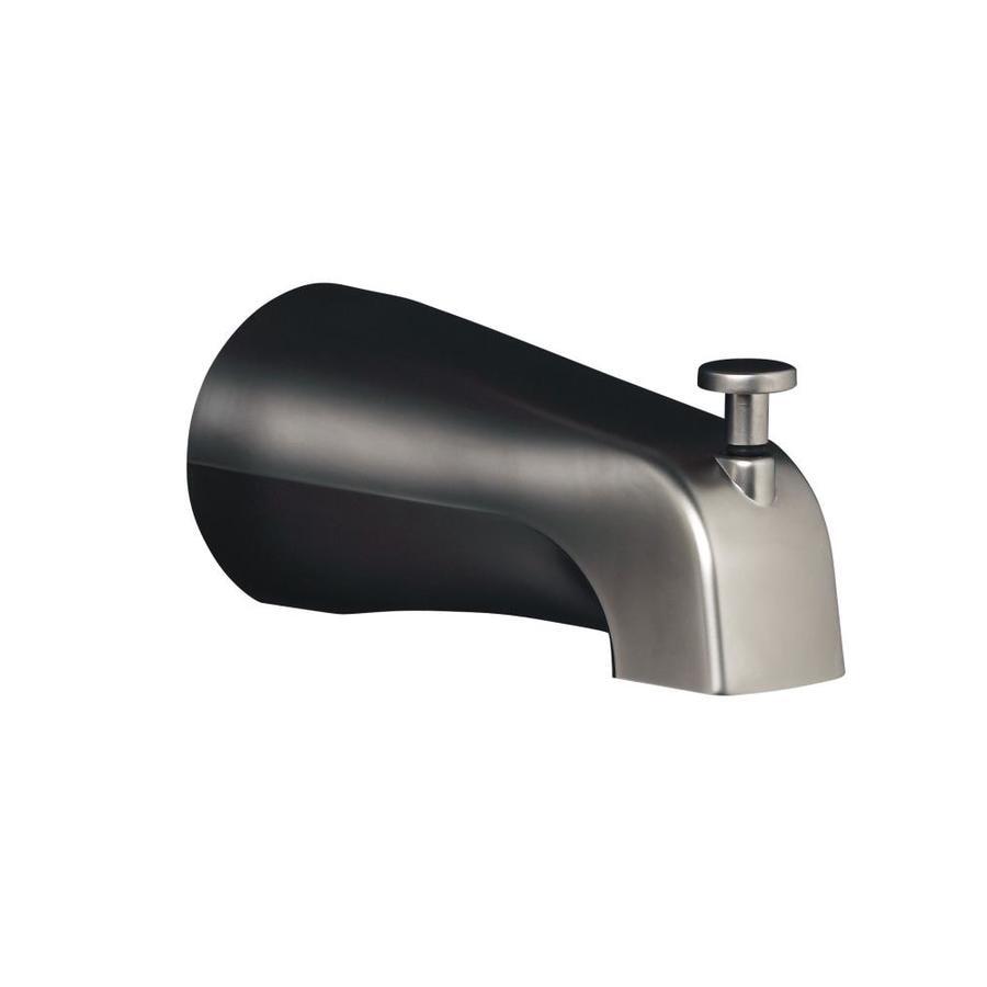 KOHLER Nickel Bathtub Spout with Diverter