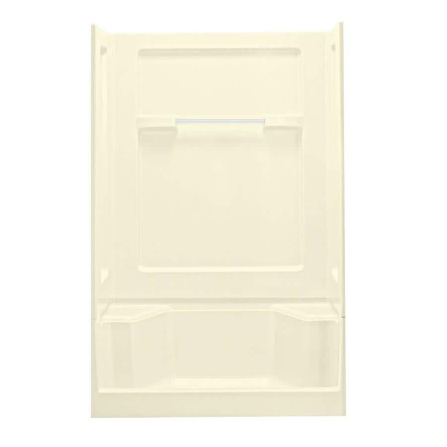 Sterling Shower Wall Surround Corner Wall Panel (Common: 34-in x 1.625-in; Actual: 55.25-in x 34-in x 1.625-in)