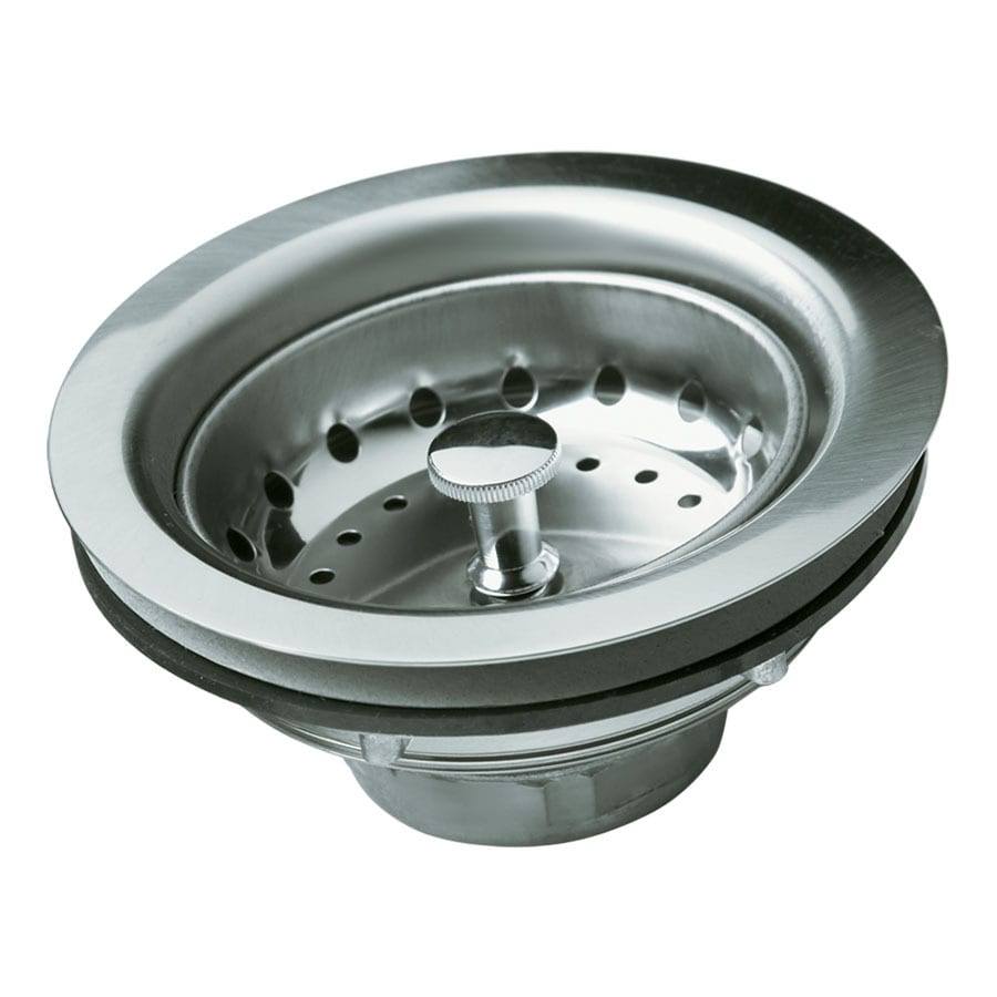 Sterling 2.8125-in Stainless Steel Fixed Post Kitchen Sink Strainer