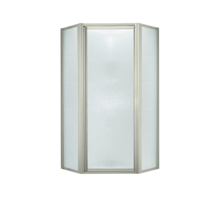 Sterling Framed Polished Nickel Shower Door