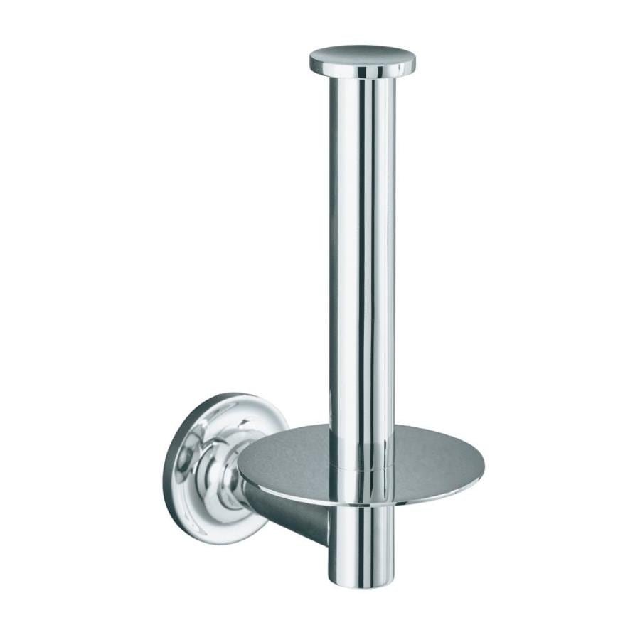 KOHLER Purist Polished Chrome Surface Mount Toilet Paper Holder