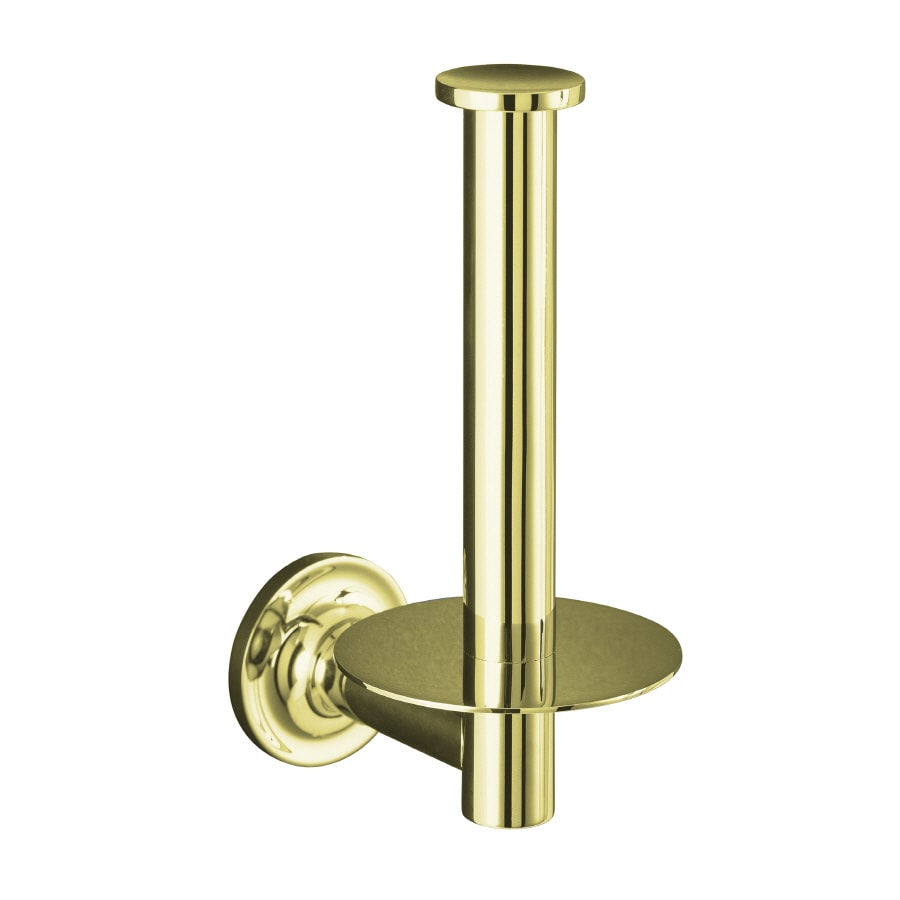 Kohler Purist Vibrant French Gold Surface Mount Toilet Paper Holder