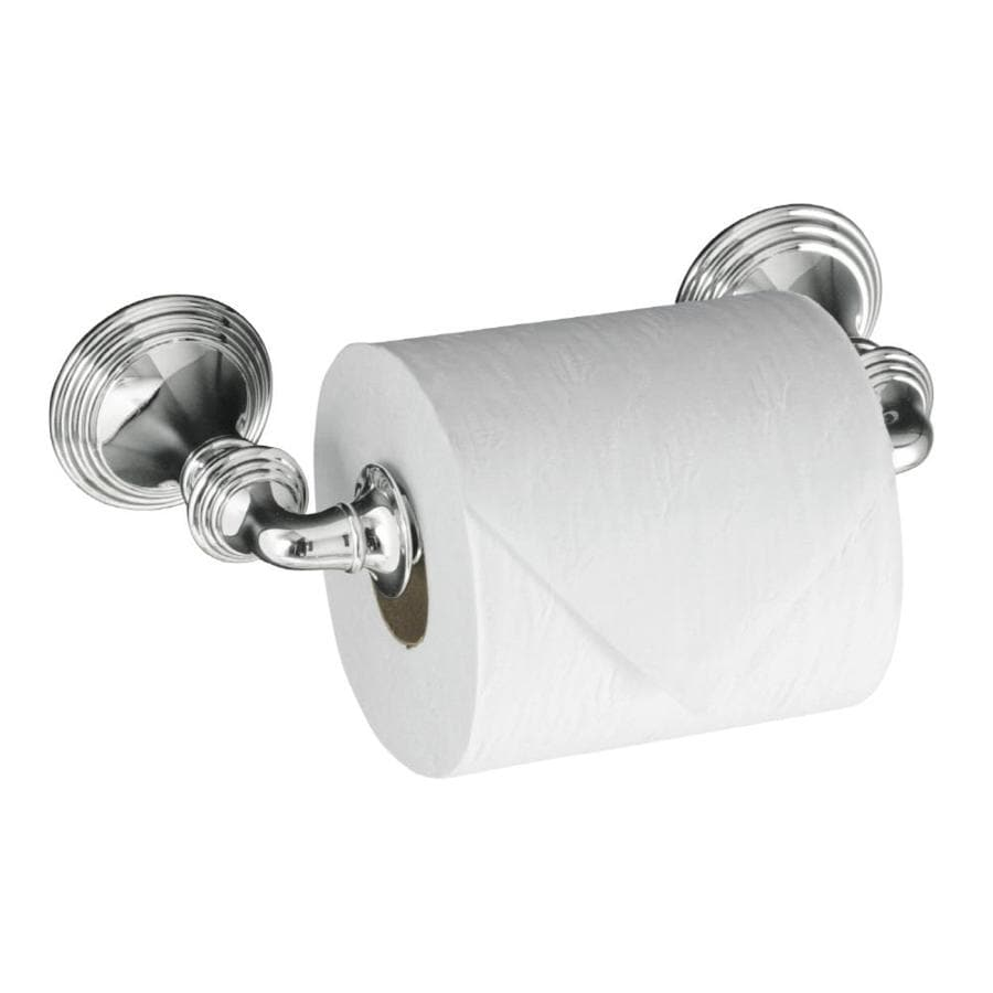 KOHLER Devonshire Polished Chrome Surface Mount Toilet Paper Holder