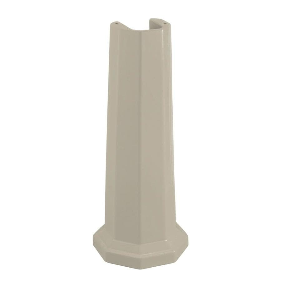 KOHLER 28.42-in H Sandbar Fireclay Pedestal Sink Base