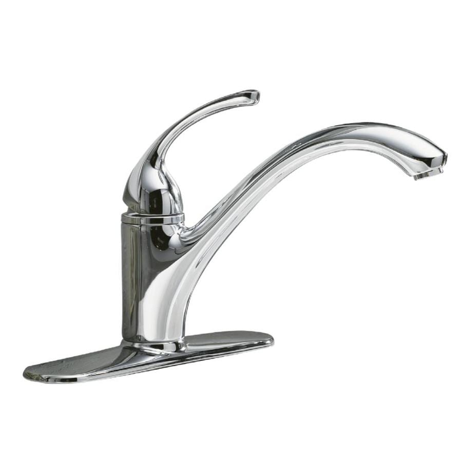 Forte Kohler Faucet : Shop KOHLER Forte Polished Chrome 1-Handle Low-Arc Kitchen Faucet at ...