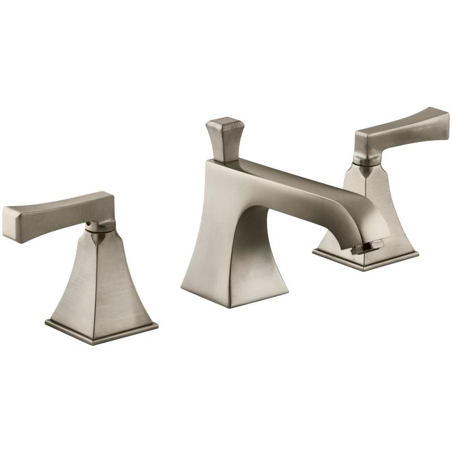 Shop kohler memoirs vibrant brushed bronze 2 handle - Kohler two tone bathroom faucets ...