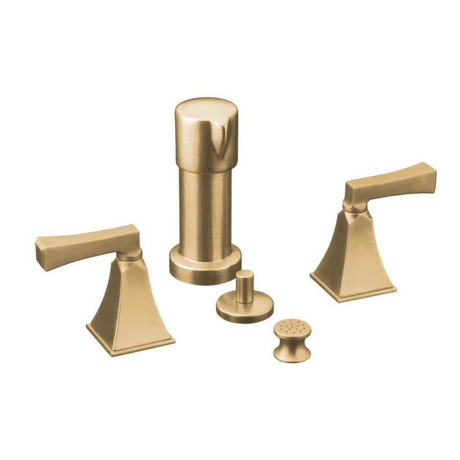 KOHLER Memoirs Vibrant Brushed Bronze Vertical Spray Bidet Faucet