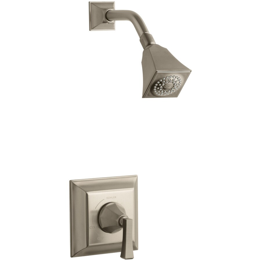 KOHLER Memoirs Vibrant Brushed Bronze 1-Handle Shower Faucet Trim Kit with Single Function Showerhead