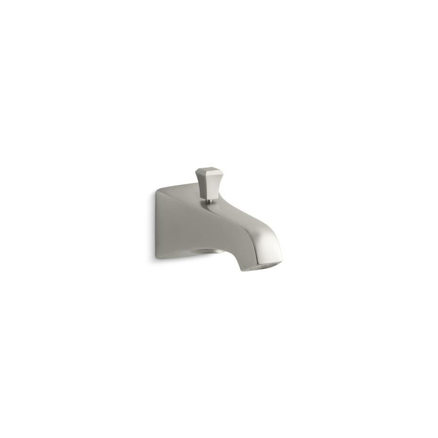 KOHLER Nickel Tub Spout with Diverter