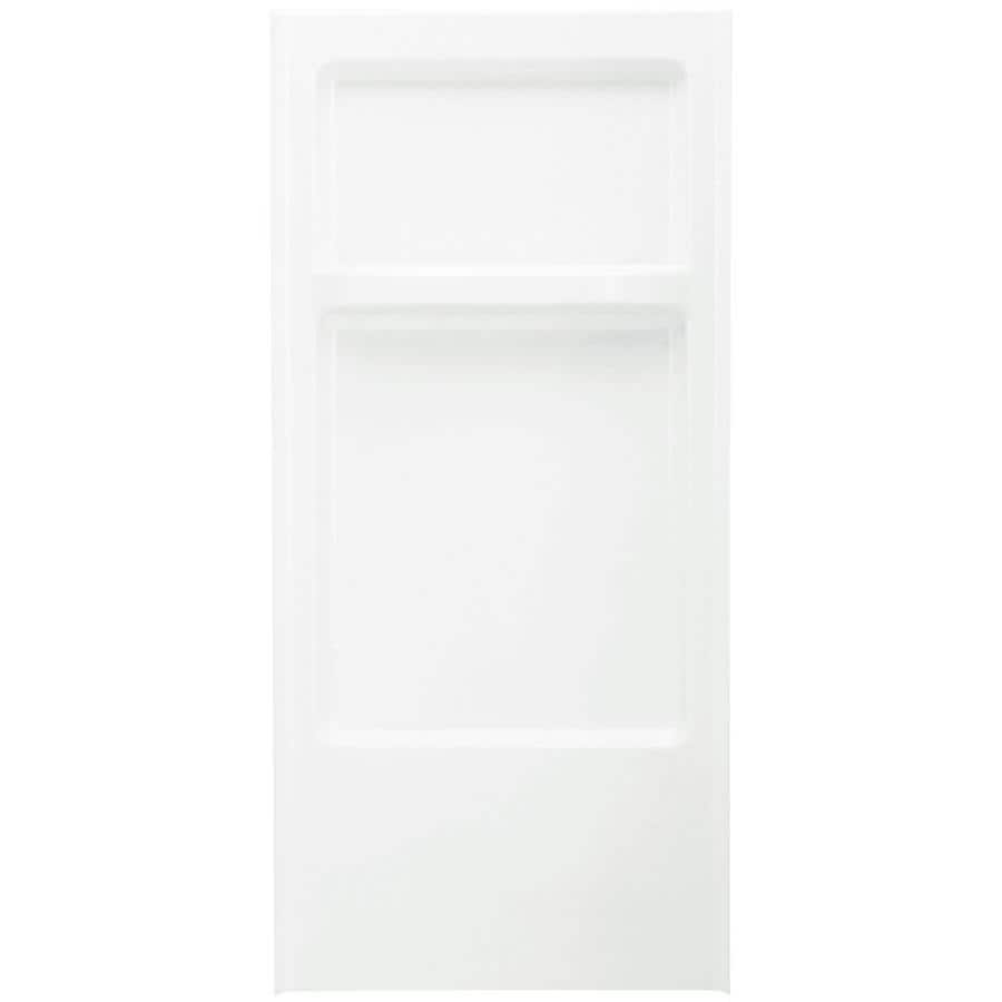 Sterling Advantage White Shower Wall Surround Back Panel (Common: 32-in x 1.625-in; Actual: 67-in x 32-in x 1.625-in)