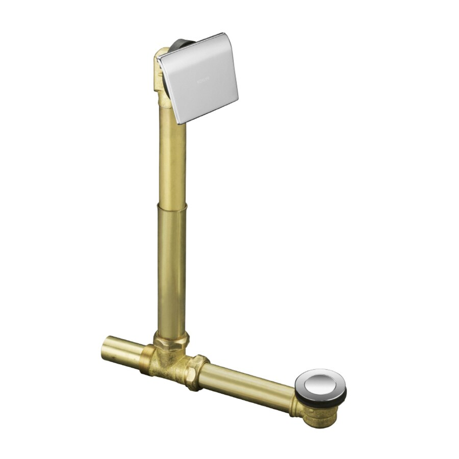 KOHLER 1-1/2-in Polished Chrome Triplever with Brass Pipe