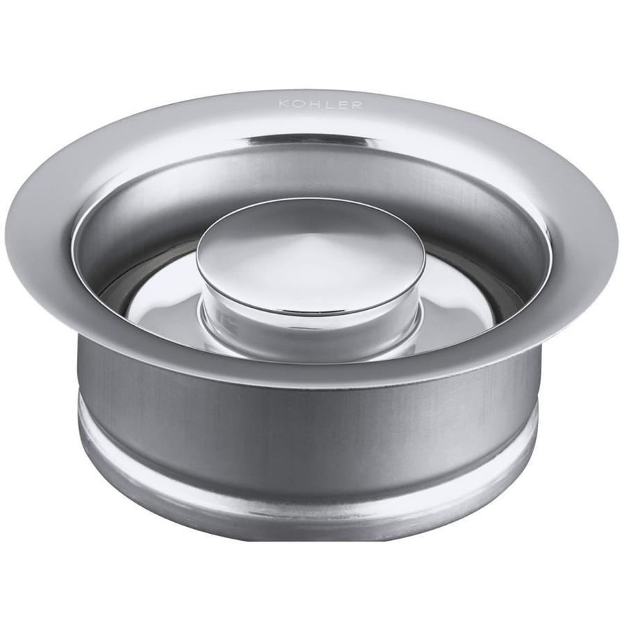 KOHLER 4.5-in Polished Chrome Garbage Disposal Sink Flange