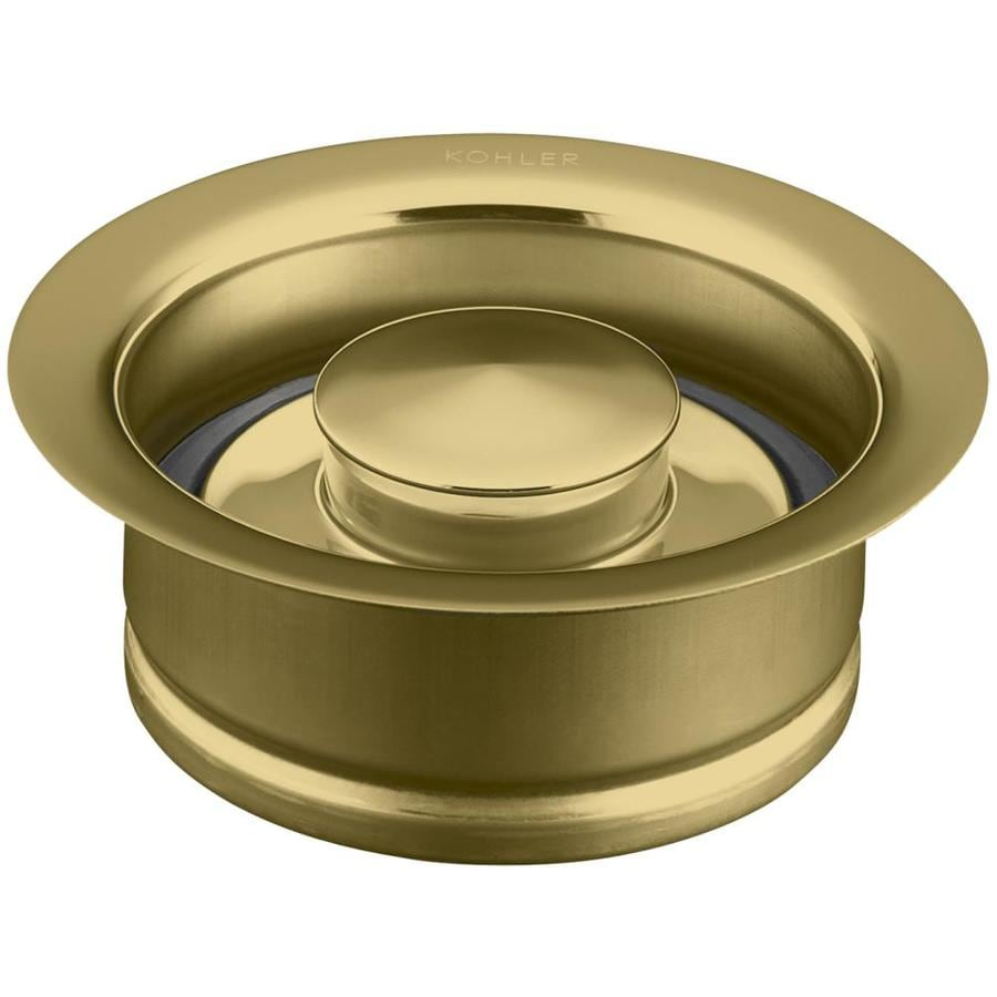 KOHLER 4.5-in Vibrant Polished Brass Garbage Disposal Sink Flange