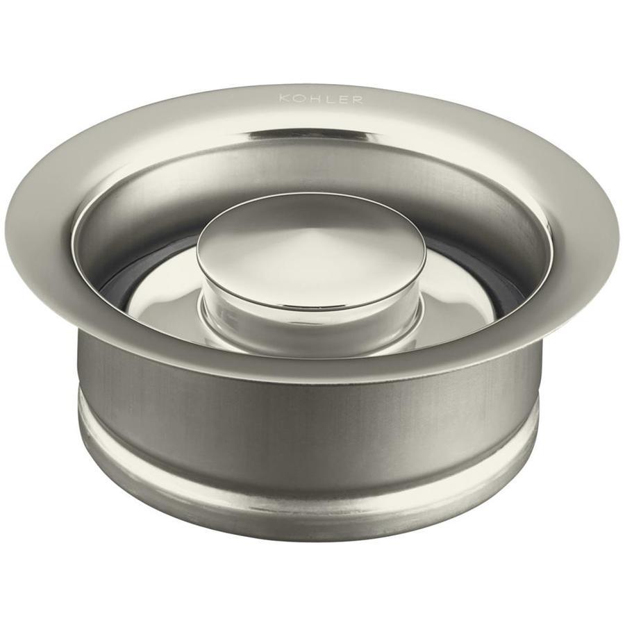 KOHLER 4.5-in Vibrant Polished Nickel Garbage Disposal Flanges