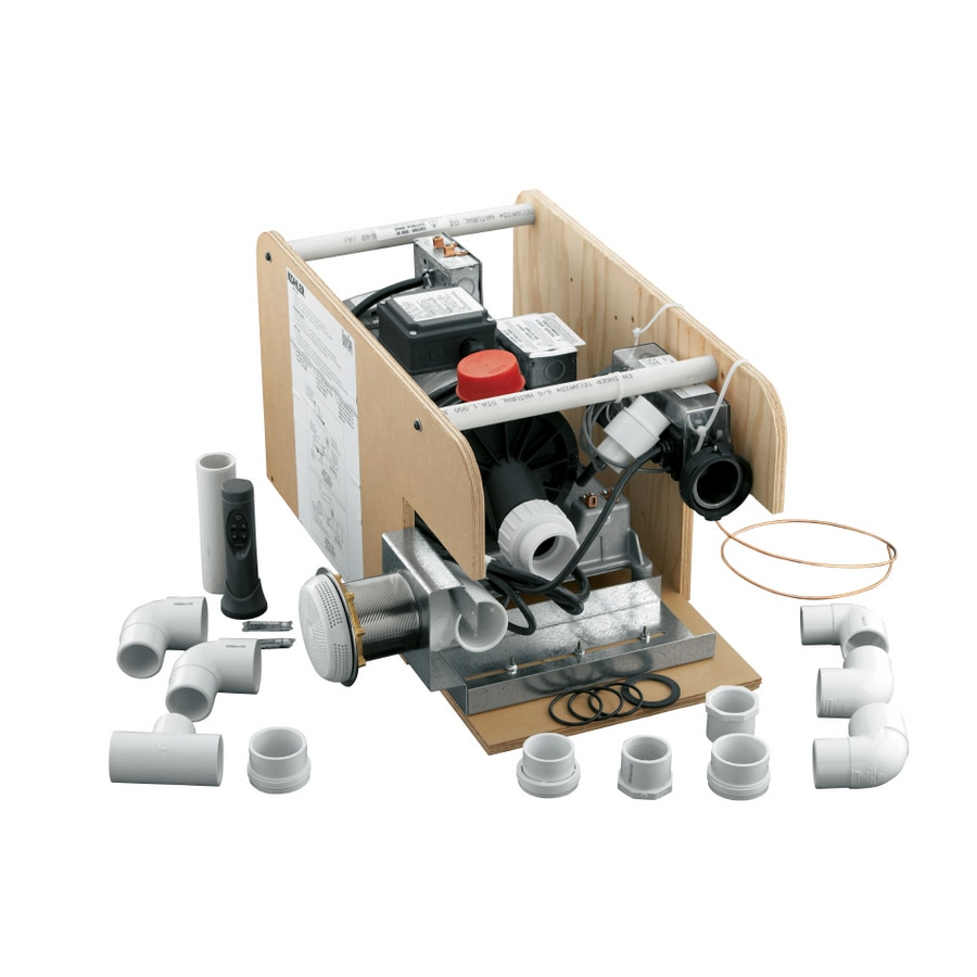 Kohler White Bodyspa Waterfall Pump Kit