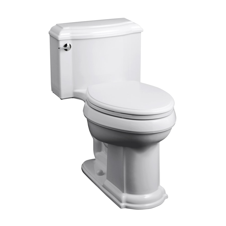 Shop kohler devonshire white 1 6 gpf 12 in rough in elongated 1 piece comfort height - Kohler devonshire reviews ...