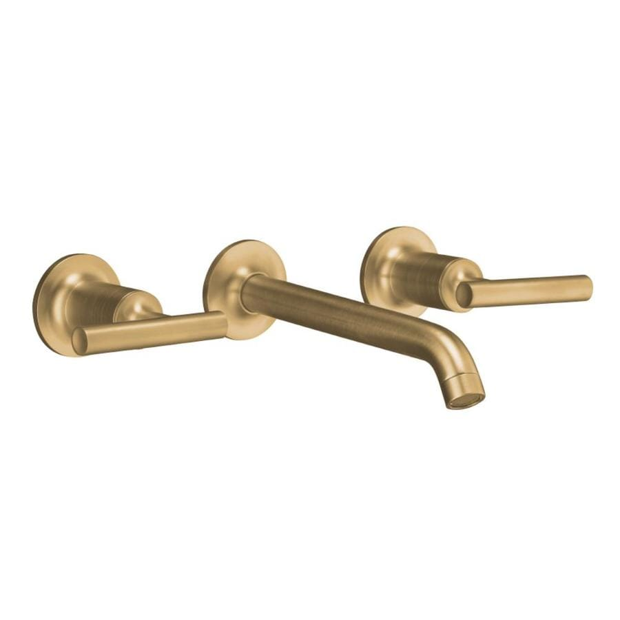 ... Brushed Bronze 2-Handle Widespread WaterSense Bathroom Faucet at Lowes