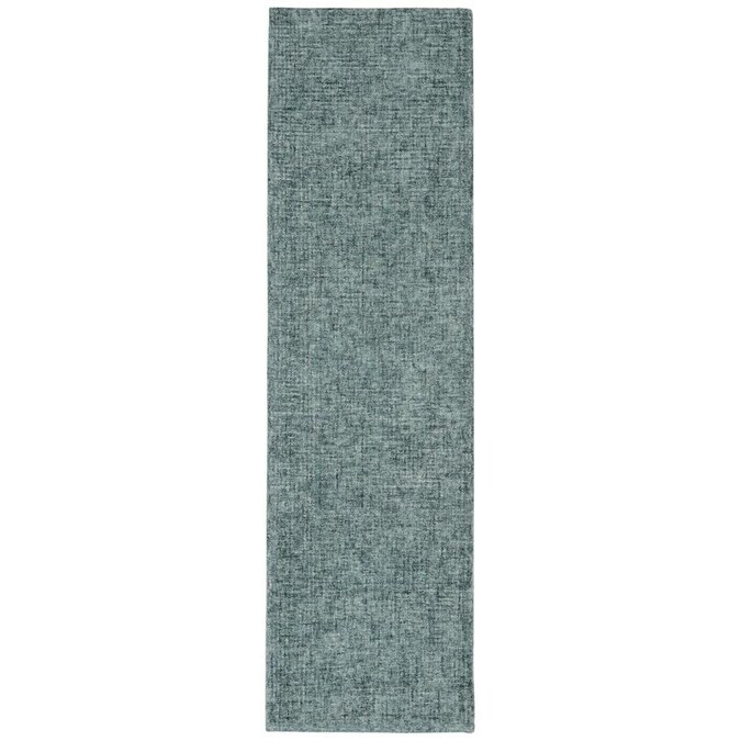 Liora Manne Savannah 2 X 8 Green Indoor Handcrafted Runner In The Rugs Department At Lowes Com