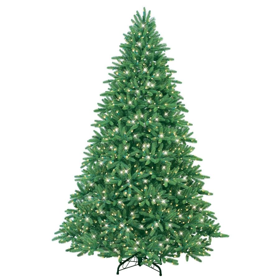 Shop GE 7-1/2' Easy Shape Fraser Fir Artificial Christmas Tree ...