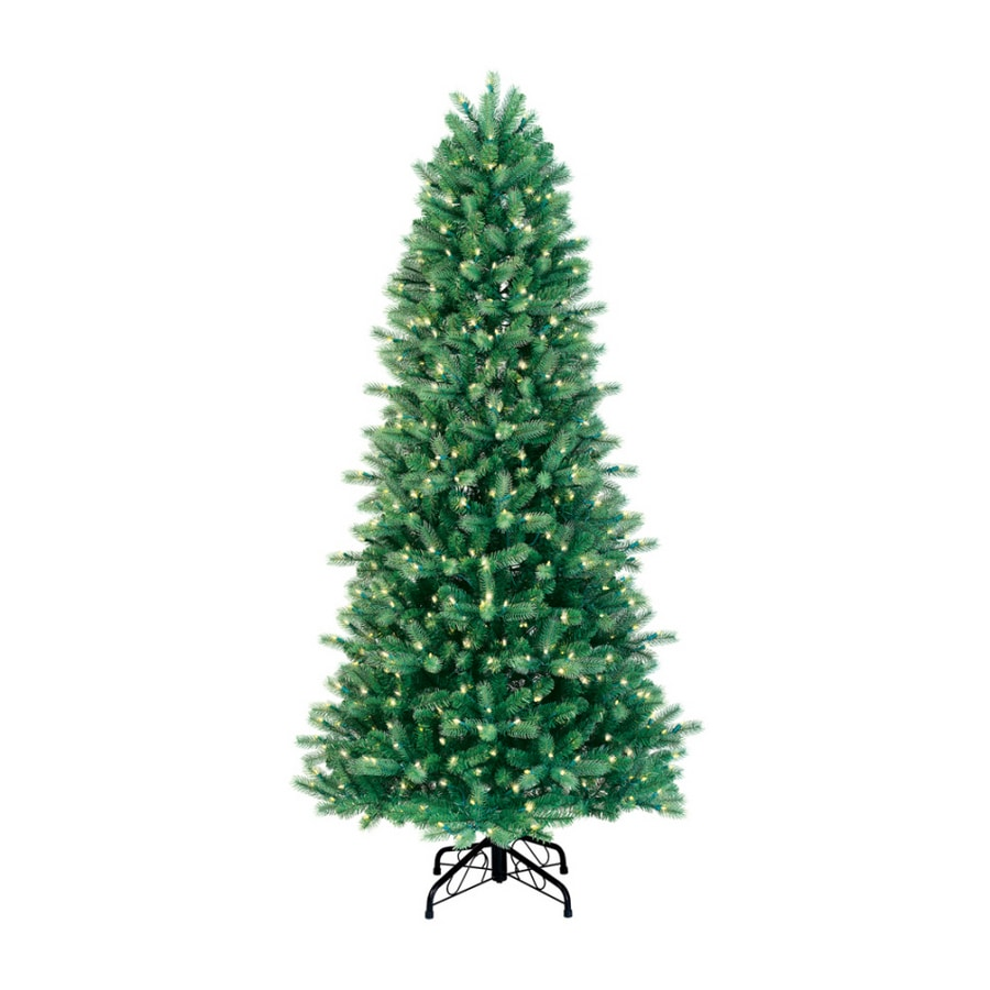 Just Cut Christmas Tree: GE 7' Just Cut Colorado Spruce Artificial Christmas Tree