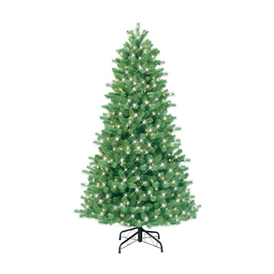 Shop GE 6.5' Pine Artificial Christmas Tree with Clear Lights at ...
