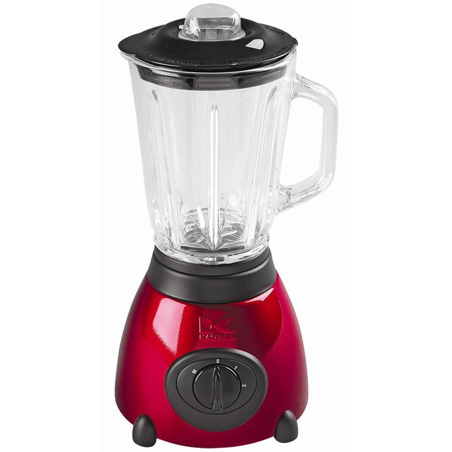 KALORIK 6-Cup Red Stainless Steel Blender