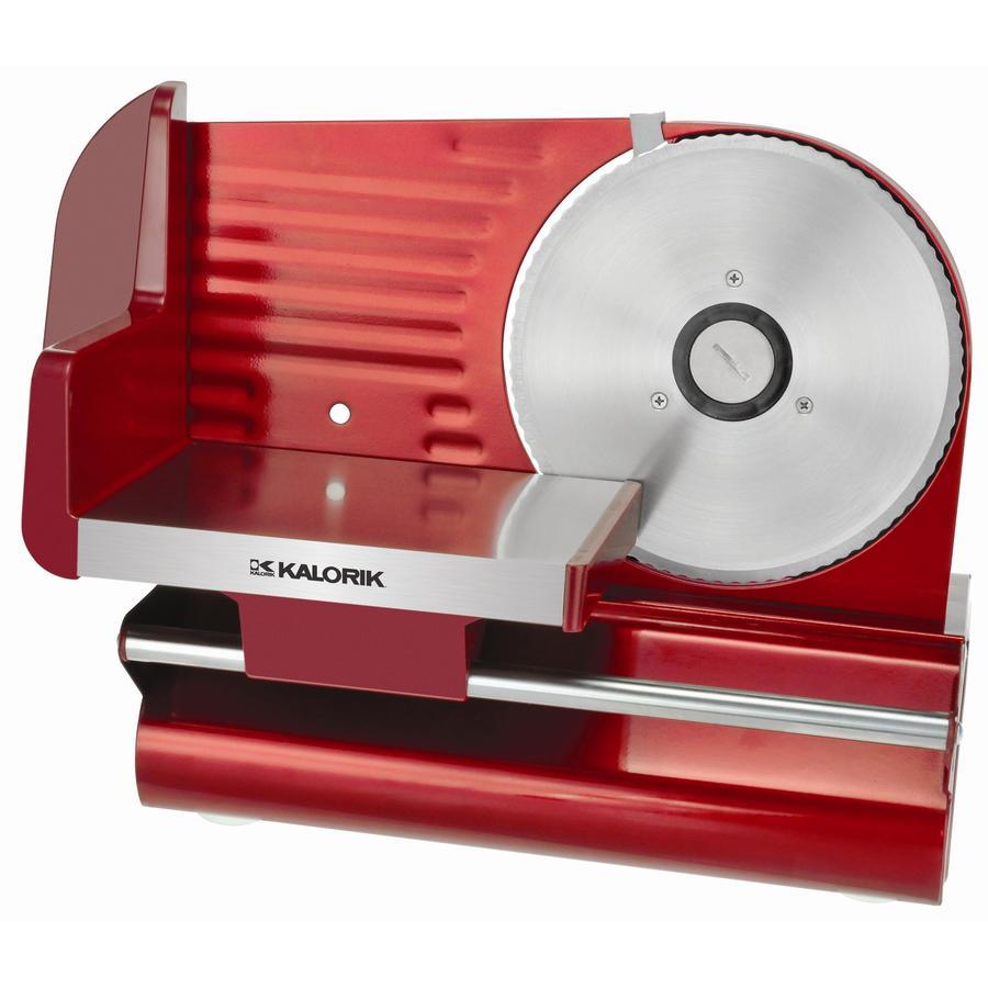 KALORIK 1-Speed Red Food Slicer