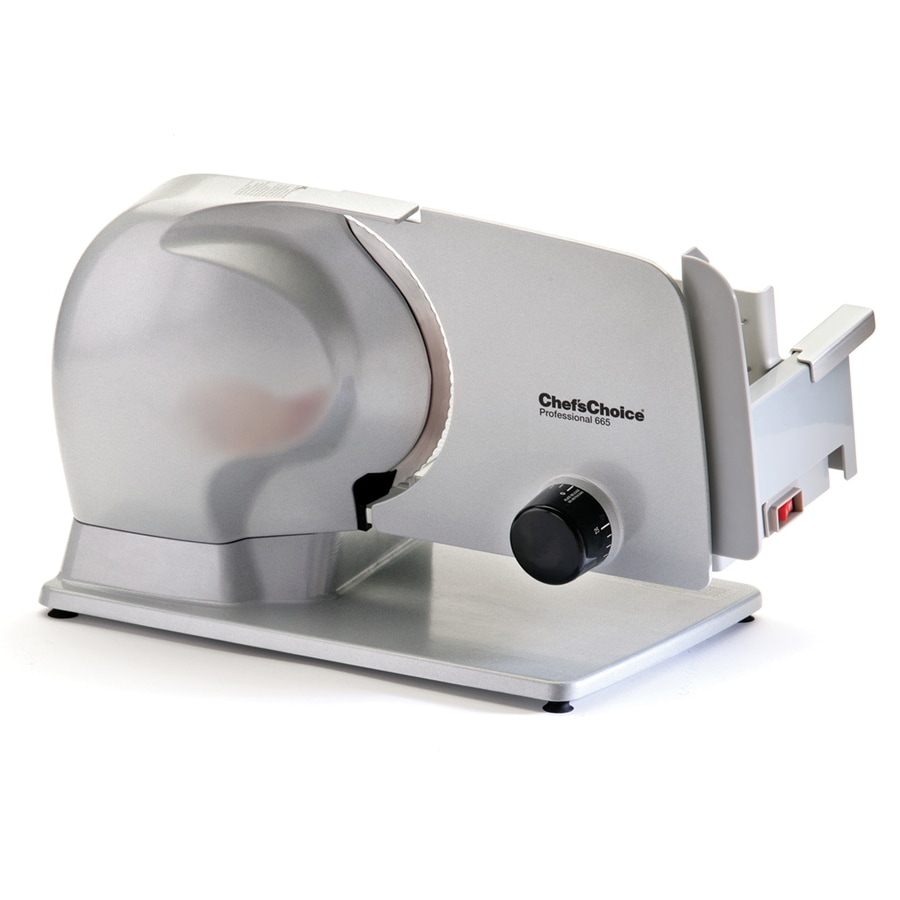 Chef'sChoice 1-Speed Stainless Steel Food Slicer