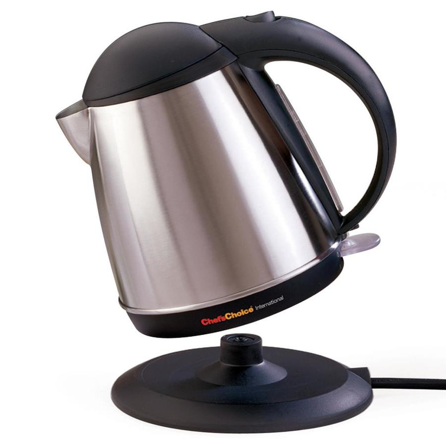 Chef Schoice Metallics 7 Cup Electric Tea Kettle At Lowes Com
