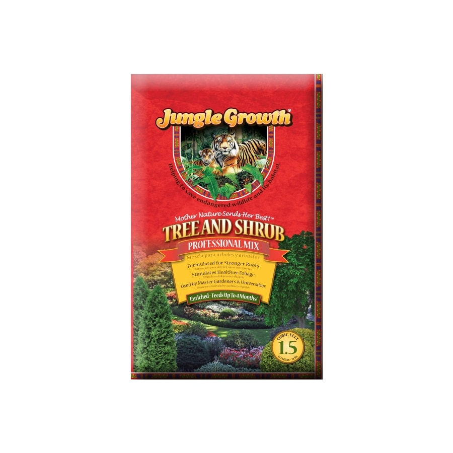 Jungle Growth 1.5-cu ft Tree and Shrub Garden Soil