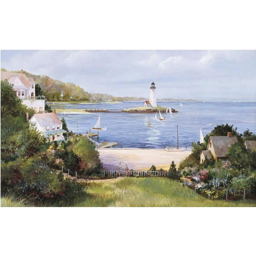 Environmental Graphics Lighthouse Cove Wall Mural