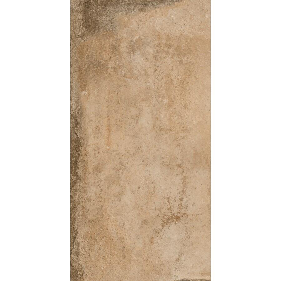 FLOORS 2000 Bridgeport 6-Pack Autumn Porcelain Floor and Wall Tile (Common: 12-in x 24-in; Actual: 23.63-in x 11.81-in)