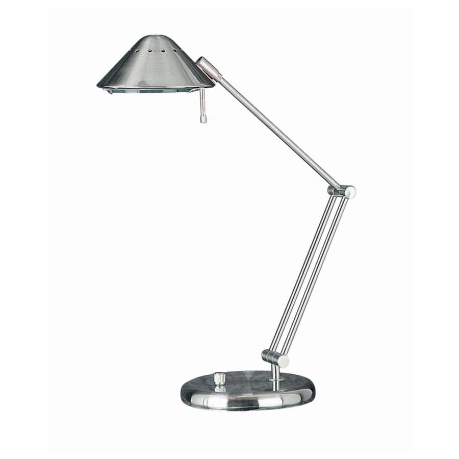Lite Source 26-in Adjustable Steel-Painted Desk Lamp with Metal Shade